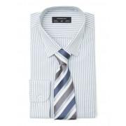 Paramount Grey Bengal Stripe Shirt