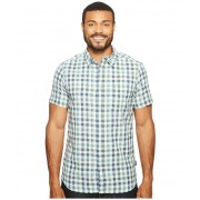 The North Face Short Sleeve Getaway Shirt Blizzard Blue Plaid (Prior Season)