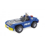 Ausini City Police Car Patrol Unit 98pc Building Blocks Educational Set Compatible to Lego Parts - Best Gift for Boys and Girls