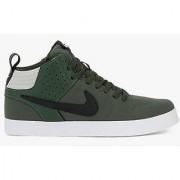 Nike Men'S Liteforce Iii Mid Carbon Green And Black Sneakers 669594-302