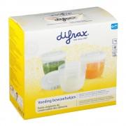 difrax® Behälter für Muttermilch und Babynahrung