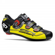 Sidi Genius 7 Mega Road Shoes - Black/Yellow Fluo/Black - EU 41 - Black/Yellow Fluo/Black