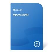 Microsoft Word 2010, 059-07628 certificat electronic