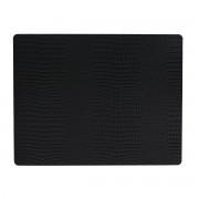 LindDNA - Tischset Square L 35 x 45 cm, Croc schwarz