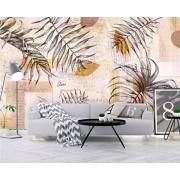 YCRY Fotomurales Murales moderna de Diseno Hojas de sobre 3D- Decoración de Pared decorativos 450x300cm