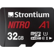Strontium Nitro A1 32 GB SDHC UHS Class 1 100 Mbps Memory Card(With Adapter)