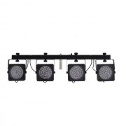 EuroLite - KLS-200 RGB LED inkl. Case LED-Lichtanlage mit 4 Spots