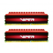 Модуль памяти Patriot Memory Viper DDR4 DIMM 3000MHz PC4-24000 - 8Gb KIT (2x4Gb) PV48G300C6K Red