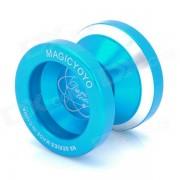 Magicyoyo N8 Alloy Profesional YO-YO w / Strap - Blue Silver +