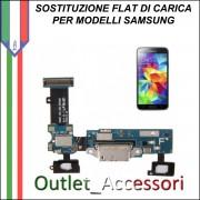 Cambio Sostituzione Connettore Flat Ricarica Carica MICROFONO Samsung Galaxy S6 EDGE G925F