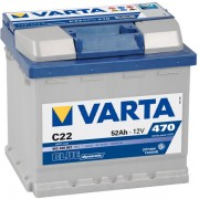Baterie auto Varta Blue Dynamic 12V 52Ah C22 cod 552400 047