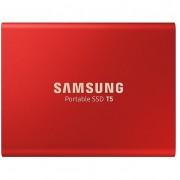 Samsung 1TB T5 USB 3.1 Külsõ SSD - piros