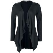 Black Premium by EMP Schwarzer Offener Damen-Cardigan S, M, L, XL, XXL Damen
