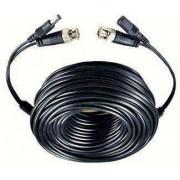 Câble coaxial + alimentation 12v pour caméra - 10m