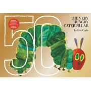 The Very Hungry Caterpillar: 50th Anniversary Golden Edition, Hardcover/Eric Carle