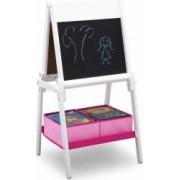 Tabla magnetica Delta Children multifunctionala Premium White