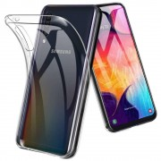 Samsung Galaxy A40 siliconen achterkant hoesje - Transparant
