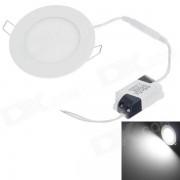 """""""WUS-THD-Y-2835 6W 440lm 6500K 30 SMD 2835 LED de la luz blanca 3.5 """"""""Lampara de techo - blanco (85 ~ 265V)"""""""
