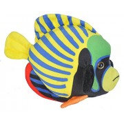 Wild Republic Emperor Angelfish Plush, Stuffed Animal, Plush Toy, Sea Animals, Gifts for Kids, 8 Inches