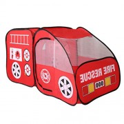 Generic Pop Up Kid Home/Beach/Garden/Camping/Nursery Fire Truck Shapes Play Tent Toy