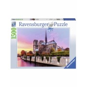 Puzzle Pictura Notre Dame, 1500 Piese Ravensburger