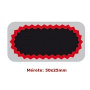 Tip-Top F2 50x25mm gumiragasztó folt