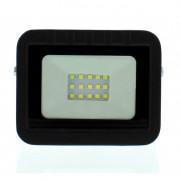 Proiector LED Well, 10W, 800 lm, IP65, 6500K, negru