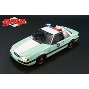 1988 Ford Mustang United States Border Patrol SSP, Turquoise w/White - Greenlight 18845 - 1/18 Scale Diecast Model Toy Car