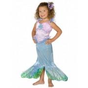 Vegaoo Meerjungfrau Kinderkostüm für Mädchen