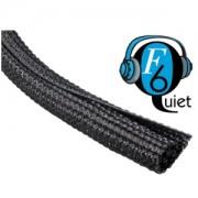 Sleeving Techflex F6 Quiet 9.5mm, negru, lungime 1m