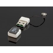 NTR CR09W microSD/microSDHC kártyaolvasó - fehér