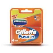 Gillette Fusion 4szt [M] OSTRZA