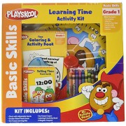 Playskool Learning Time Activity Kit with Mr. Potato Head