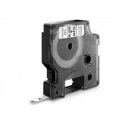 Etichete autocolante DYMO LabelManager D1 6mm x 7m negru alb 43613 S0720780