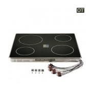 Keramische kookplaat RVS fornuis 10007183