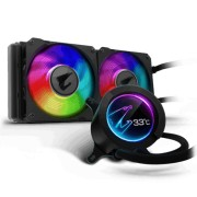 Gigabyte AORUS LIQUID COOLER 240 All-in-one Liquid Cooler with Circular LCD Display