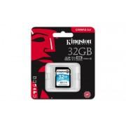 Memóriakártya, SDHC, 32GB, CL10/U3, 90/45 MB/s, KINGSTON Canvas Go (MKS32GCG)