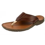 Clarks Men's Woodlake Post Brown Sandals and Floaters - 7 UK