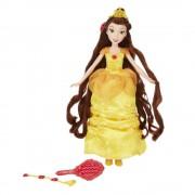 Disney Princess - Papusa Belle, cu accesorii de par