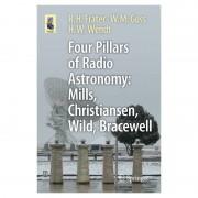 Springer Libro Four Pillars of Radio Astronomy: Mills, Christiansen, Wild, Bracewell
