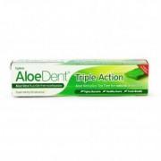 Optima AloeDent Triple Action Teafa + Q10 + Aloe Vera fogkrém - 100ml
