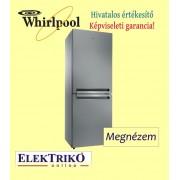 Whirlpool BTNF5012OX Dream Space 70 cm széles, alulfagyasztós hűtőszekrény , A++ energiaosztály , NoFrost