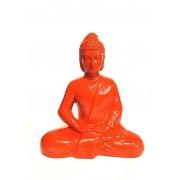 narancssárga Buddha szobor