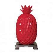 Abacaxi P de Cerâmica 30cm Vermelho Mazzotti