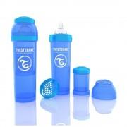 Biberon Twistshake Anti - Colici 330 ml Albastru