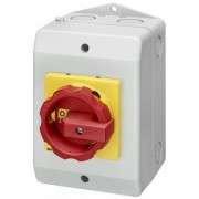 3LD2766-0TB53 + 3LD9280-0C cutie plastic cu cheie pornit-oprit , 3poli+N , 37Kw-100A , Tip Pacco