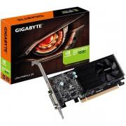 GIGABYTE Video Card GeForce GT 1030 GDDR5 2GB/64bit, 1227MHz/6008MHz, PCI-E 3.0 x16, HDMI, DVI-D, Cooler, Low-profile, Retail GV-N1030D5-2GL
