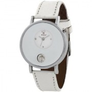 Evelyn Wrist Watches Analogue White Womens Watch (W-235)