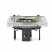 Capac Jante Auto LED Multicolor cu Incarcare Energie Solara Tuning
