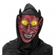 Merkloos Horror duivel masker voor volwassenen